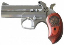 "BOND ARMS SNAKE SLAYER IV DERRINGER 45 COLT /410GA., 4"" BBL.  STAINLESS/WOOD"