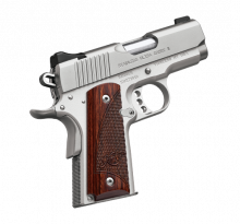 "KIMBER ULTRA CARRY ll, .45 ACP, 3"" BBL., STAINLESS, 7 ROUNDS"