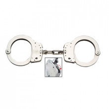 SMITH & WESSON HANDCUFFS STANDARD SIZE NICKEL