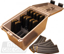 MTM TACTICAL MAG CAN, HOLDS 15 AR MAGS.