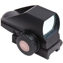 TRUGLO TRU BRITE RED DOT SIGHT, OPEN DUAL COLOR, 1 RETICLE/ 2 COLORS, MATTE BLACK