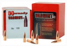 HORNADY RIFLE BULLETS, 22 CAL, .224, 55 GR., VARMINT SPSX, 100 COUNT BOX