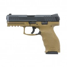 "H&K VP9, 9MM, 4.09"" BBL, DARK EARTH, 15 ROUNDS"