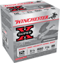 "WINCHESTER SUPERX STEEL, 12 GA., 3"", 11/4 OZ, #4, 25 ROUNDS"
