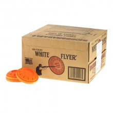 WHITE FLYER STANDARD CLAY TARGETS 108 MM, ORANGE