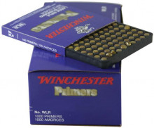 WINCHESTER PRIMERS, LARGE RIFLE FOR STANDARD LOADS