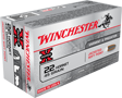 WINCHESTER AMMO, .22 HORNET, 45 GR. SOFT POINT, 50 ROUNDS