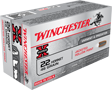 WINCHESTER AMMO, .22 HORNET, 46 GR. HOLLOW POINT, 50 ROUNDS