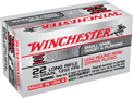 WINCHESTER AMMO, .22 LR., 40 GR., HIGH VELOCITY, 50 ROUNDS