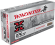 WINCHESTER AMMO, 270 WSM, 150 GR. POWER POINT, 20 ROUNDS