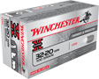 WINCHESTER AMMO, 3220 WIN., 100 GR. LEAD, 50 ROUNDS