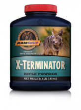 RAMSHOT RIFLE POWDER XTERMINATOR 1 LB