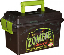 MTM ZOMBIE AMMO CAN BLACK